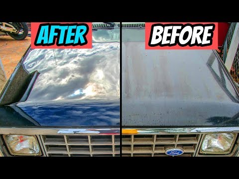How to Repair Faded Paint On Car🚧