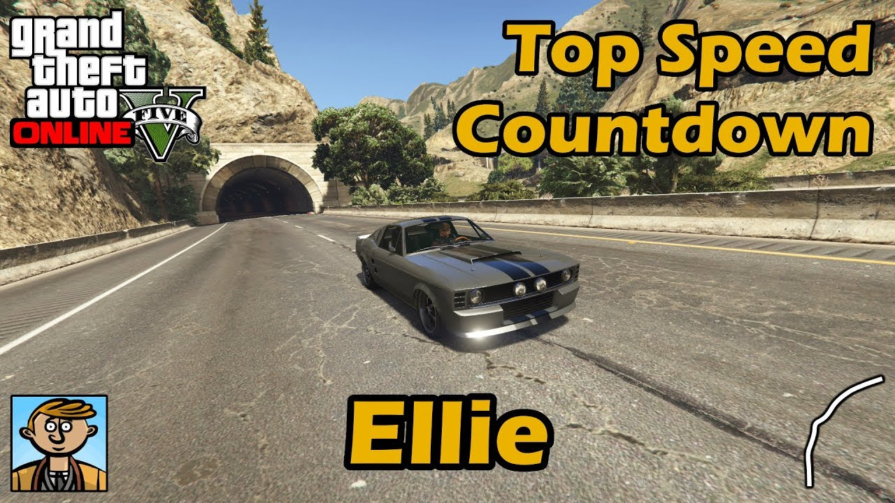 fastest muscle cars (ellie) - gta 5 best fully upgraded cars top