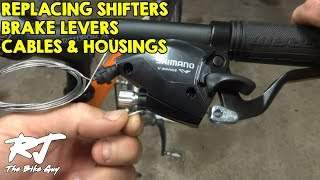 Replacing Shifters/Brake Levers/Cables/Housings On Trek 4300 Mountain Bike