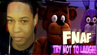 IF I LOSE, FOXY MODE ON ULTIMATE CUSTOM NIGHT CHALLENGE (FNAF TRY NOT TO LAUGH REACTION)