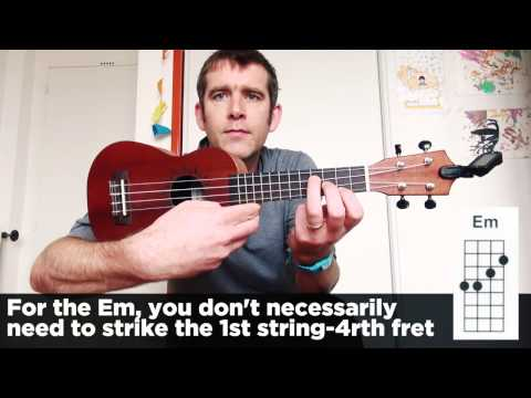 Ukulele Tutorial  Get Lucky  Daft Punk  Chords, rythme et Paroles