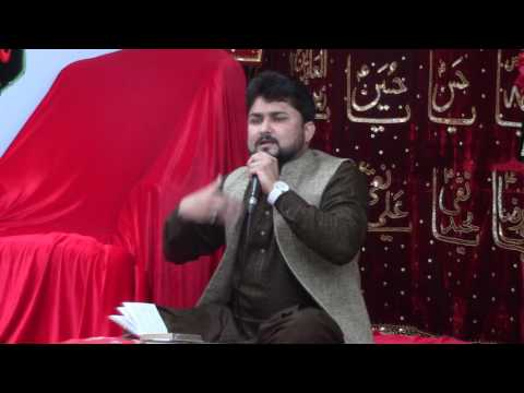 Syed Raza Abbas Zaidi recting wonderful Kalaam on Imam e Janab Zain Ul Abdeen (AS)