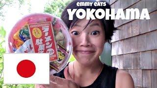 Emmy Eats Yokohama | omiyage edition| ft. TabiEats