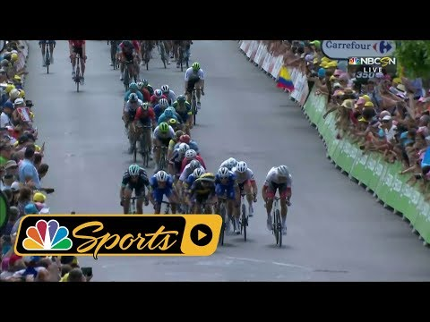 Tour de France 2018:  Stage 1 finish I NBC Sports