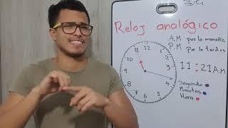 Reloj analógico y digital en LSC