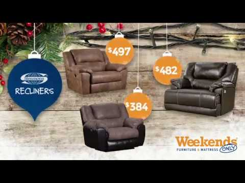 Holiday Deal: Simmons Reclining Sets