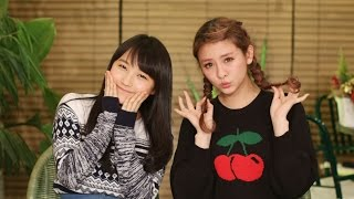 今回のMCはBerryz工房の菅谷梨沙子と、モーニング娘。'14の鞘師里保! 1...