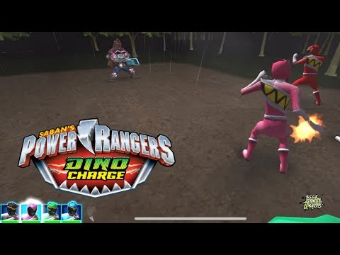 Power Rangers Dino Charge Rumble   SCRAPPER CLATTER Challenge! By StoryToys