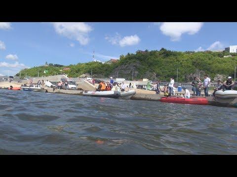 UTV.  В Уфе прошли гонки на лодках и катерах