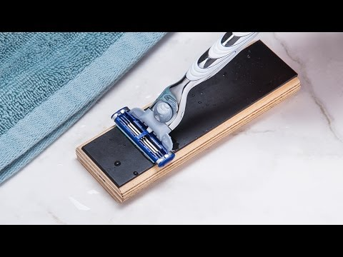 This trick keeps your razor sharper, longer.