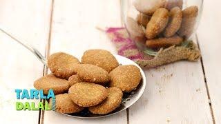 Bajra Vadi, Indian Jar Snacks by Tarla Dalal