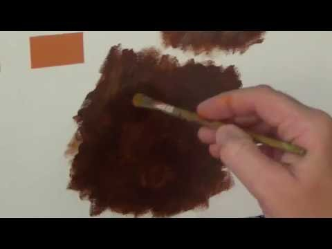 How to paint FUR Acrylic tutorial