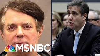 Why Is Donald Trump's DOJ Helping Convicted Felon Manafort? | The Beat With Ari Melber | MSNBC