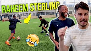 RAHEEM STERLING VS F2FREESTYLERS *INSANE SKILLS* | Billy Wingrove & Jeremy Lynch