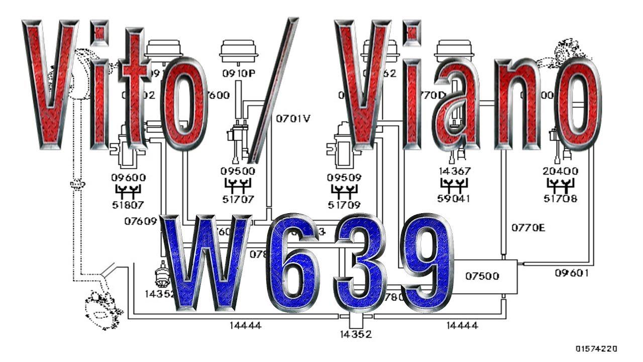 Vito/Viano (W639) | Vacuum system, OM651, OM646, OM642, M272, M112