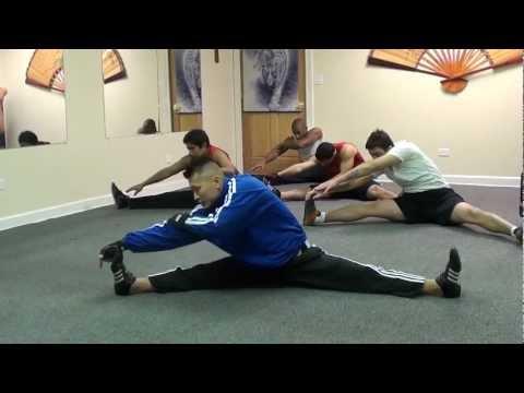 Total Body Flexibility Training - Split Training for High Kicks