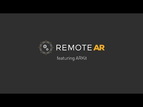 Remote AR with Apple ARKIT office