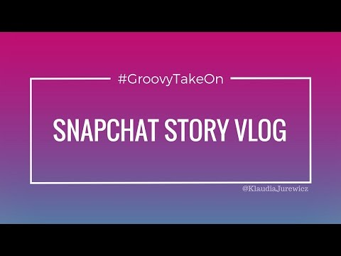 #GroovyTakeOn Snapchat Story: Game and Tv Station
