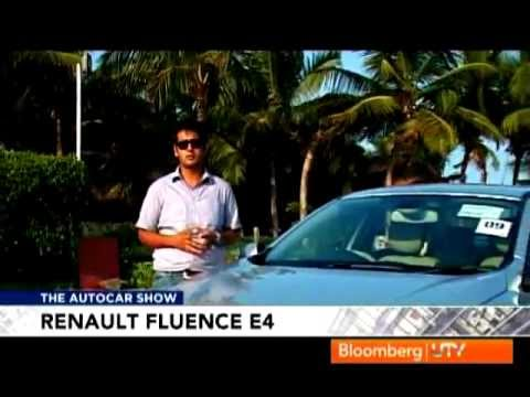 Renault Fluence E4 D review by Autocar India