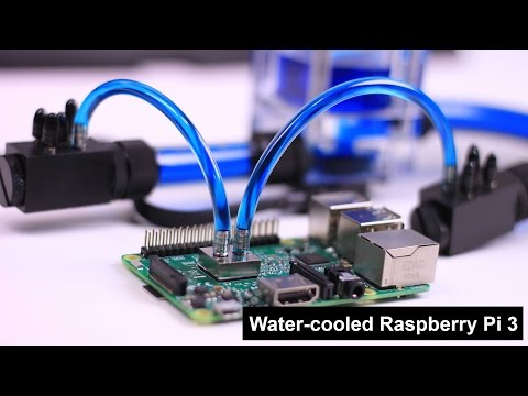Water Cooled Raspberry Pi 3