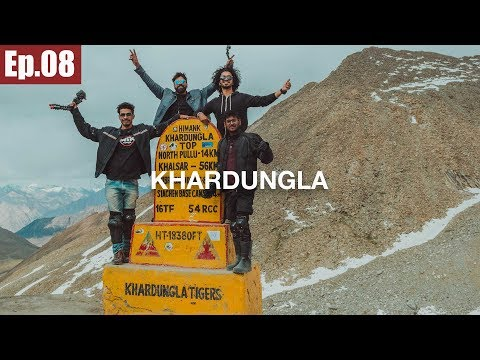Khardungla Pass   Leh to Nubra Valley    Ladakh Trip 2017 ~Ep.08