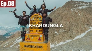 Khardungla Pass | Leh to Nubra Valley || Ladakh Trip 2017 ~Ep.08