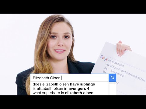 Elizabeth Olsen Answers the Web's Most Searched Questions  WIRED
