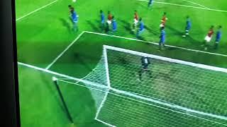 اهداف الشوط الاول مصر ضد سوازيلاند و  0 - 4 فى تصفيات  امم افريقيا 2018