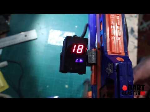 Review und Einbau: Blasterparts Aliens Ammo Counter (BAAC) für Nerf-Guns [Dartblaster.de]