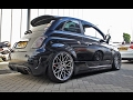 SLAMMED Abarth 500 w/ Pogea Racing wheels !