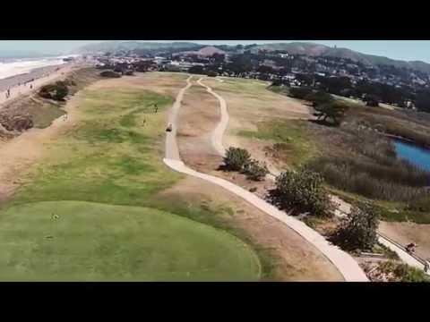 Sharp Park & Salada Beach Aerial Videography