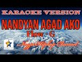 Nandyan Agad Ako | KARAOKE VERSION | - Flow G | Instrumental Beat