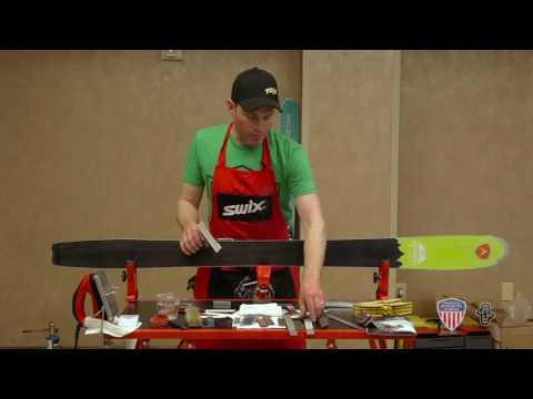 Learn How to  Wax and Tune Your Skis