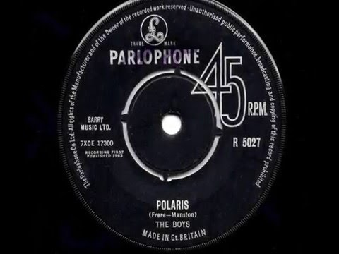 The Boys - Polaris - 1963 45rpm