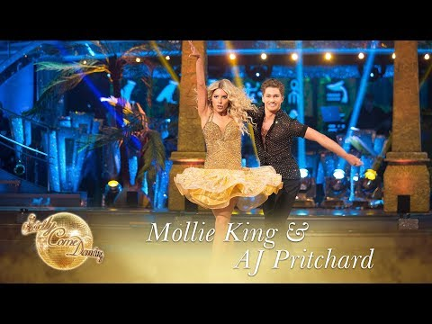 Mollie and AJ Samba 'Whenever, Wherever' by Shakira - Strictly Come Dancing 2017