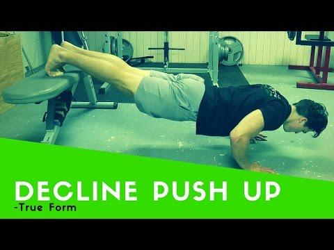 Decline Push-Up Tutorial True Form