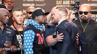 THE COMPLETE FLOYD MAYWEATHER VS CONOR MCGREGOR LOS ANGELES PRESS CONFERENCE VIDEO thumbnail