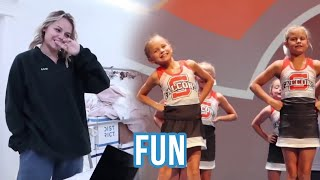 Kesley's Plans | LED lights And Cheer Performance | The LeRoys