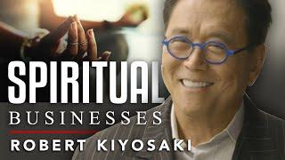 HOW TO BRING SPIRITUALITY INTO A CORPORATION - Robert Kiyosaki   London Real