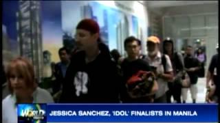 Jessica Sanchez, 'Idol' finalists in Manila