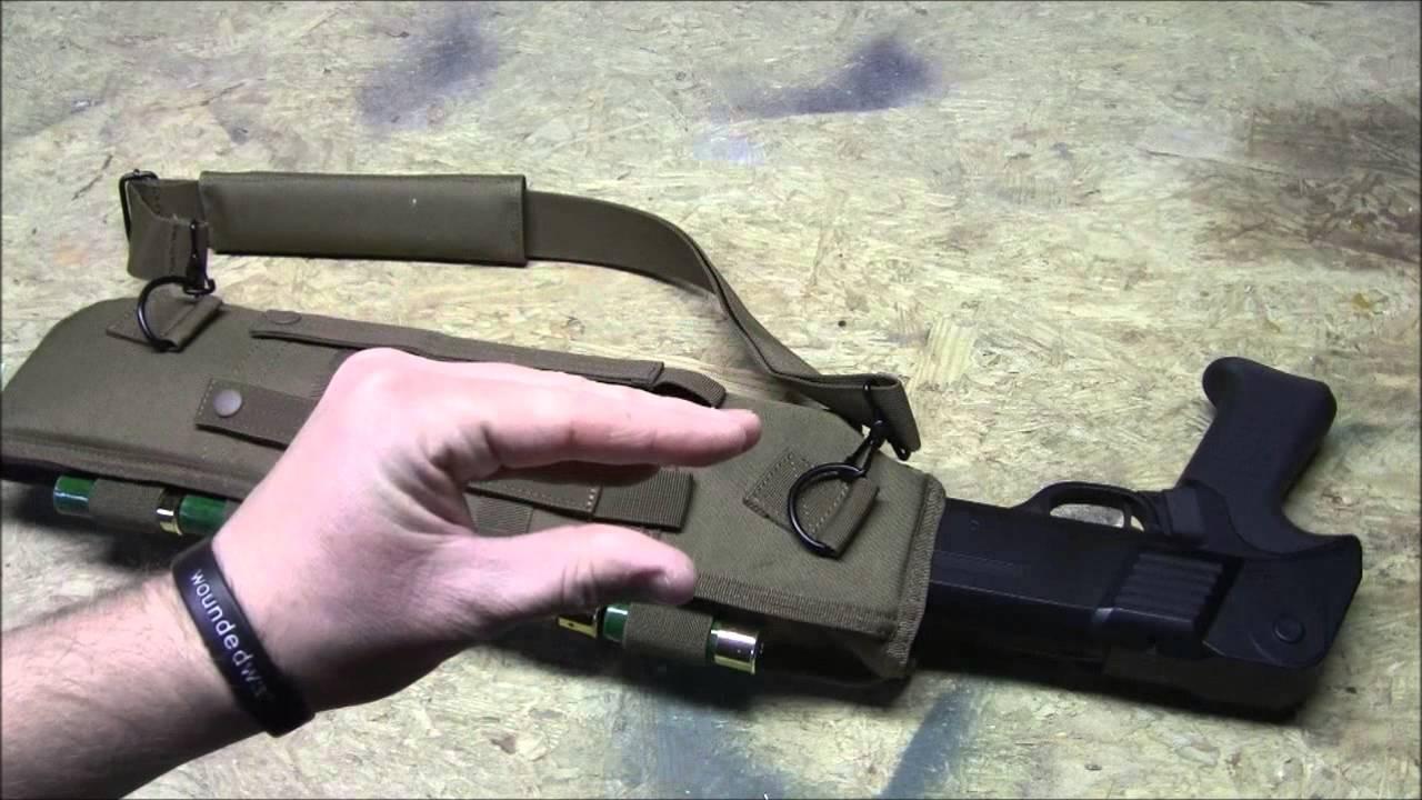 Voodoo Tactical Breachers Short Shotgun Scabbard Review Youtube