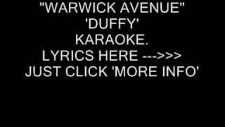 """""""WARWICK AVENUE"""