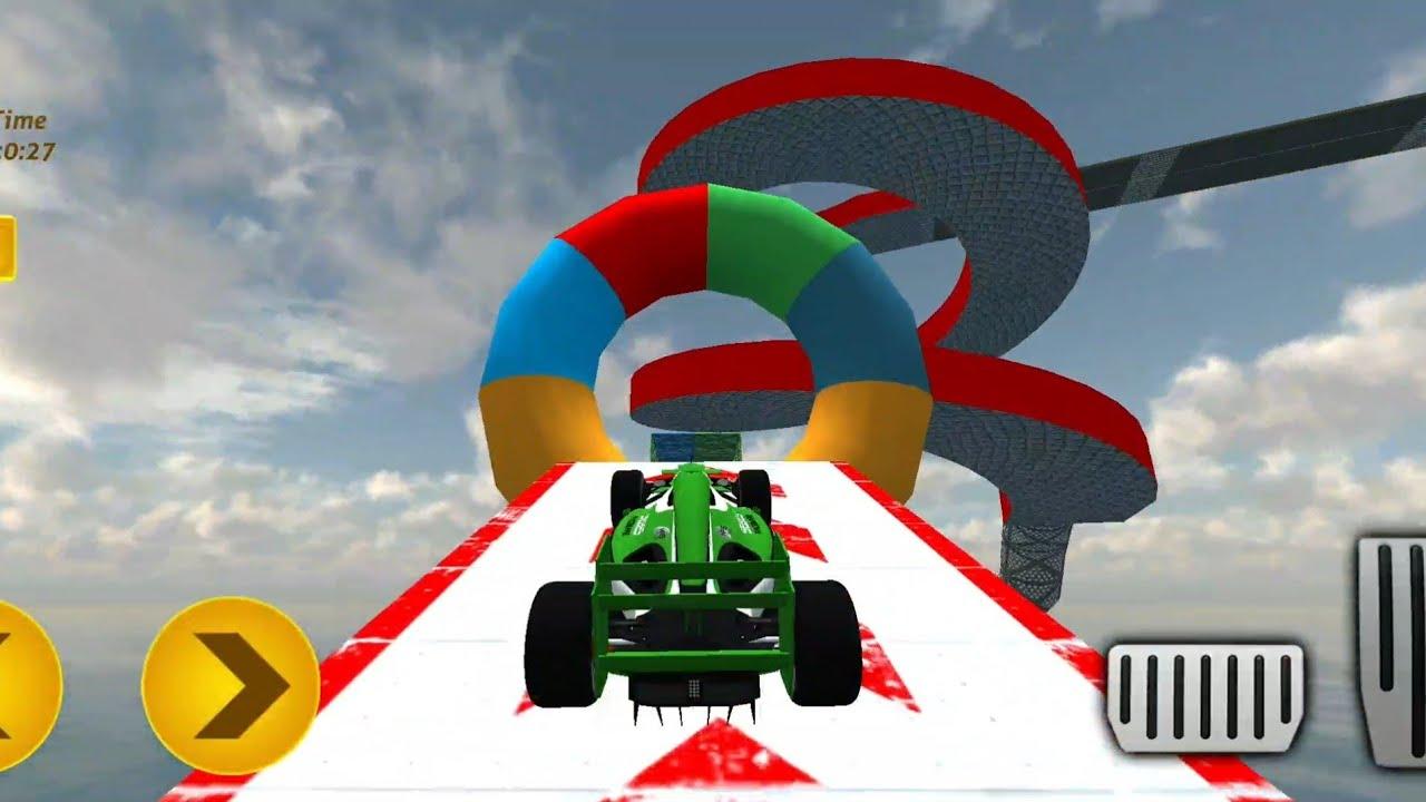 trò chơi lái xe ô tô vượt địa hình * Formula Ramp Car Stunts 2020 *  Android Gameplay