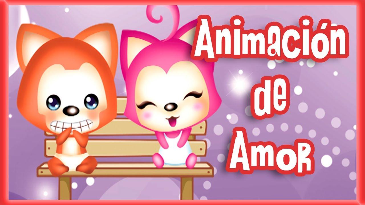Imagenes De Amor Con Frases De Amor: Personajes Tiernos Con Frases De Amor (Animación)