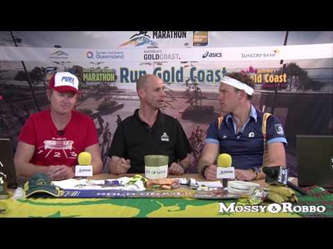 2014 Gold Coast Airport Marathon Webcast: Mossy & Robbo's Gold Coast Airport Marathon Show