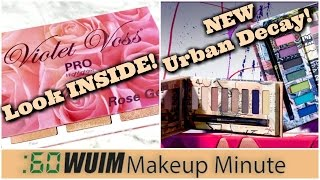 Makeup Minute | Violet Voss ROSE GOLD Highlighter Coming Soon + Jean-Michel Basquiat Collection!
