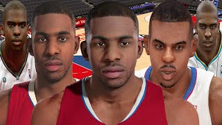Chris Paul From NBA 2K6 to NBA 2K16