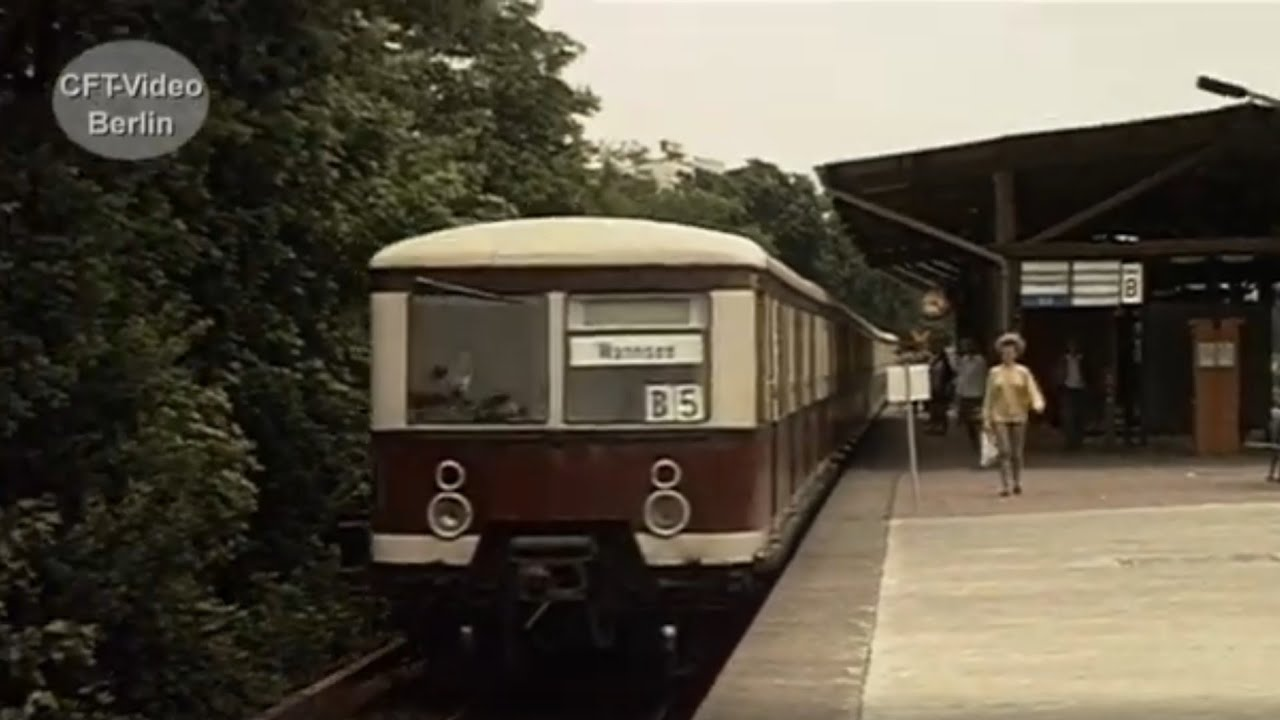 Das Berliner S-Bahnnetz wächst wieder zusammen. - YouTube