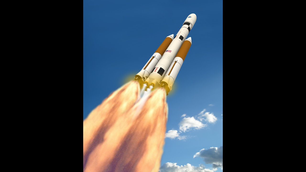 NASA's BIGGEST ROCKET EVER~LAUNCHING IN 2018 - YouTube