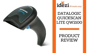 "Datalogic QuickScan Lite QW2100 - Barcode Scanner - Idezi ""ID Made Easy"""